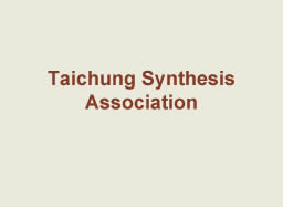 Taichung Synthesis Association